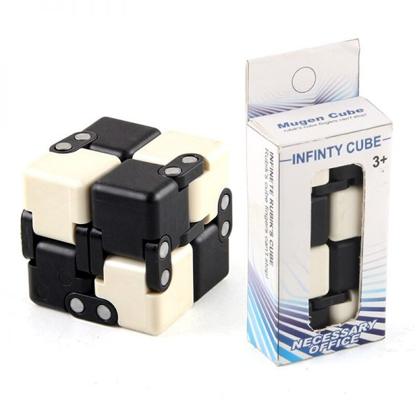 Children Adult Decompression Toy Infinity Magic Cube Square Puzzle Toys Relieve Stress Funny Hand Game Four 4 - Infinity Cube Fidget