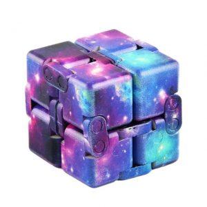Multi-Colored Infinity Cube Fidget