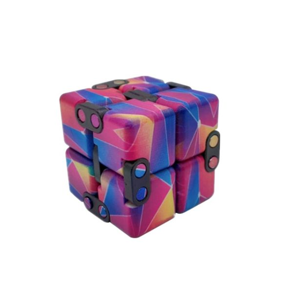 Creative Infinite Cube Infinity Cube Magic Cube Office Flip Cubic Puzzle Stop Stress Reliever Autism Toys 2.jpg 640x640 2 - Infinity Cube Fidget