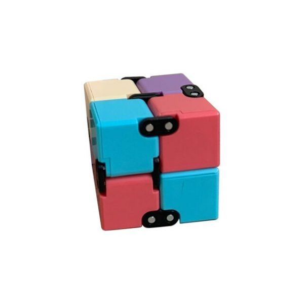 Creative Infinite Cube Infinity Cube Magic Cube Office Flip Cubic Puzzle Stop Stress Reliever Autism - Infinity Cube Fidget