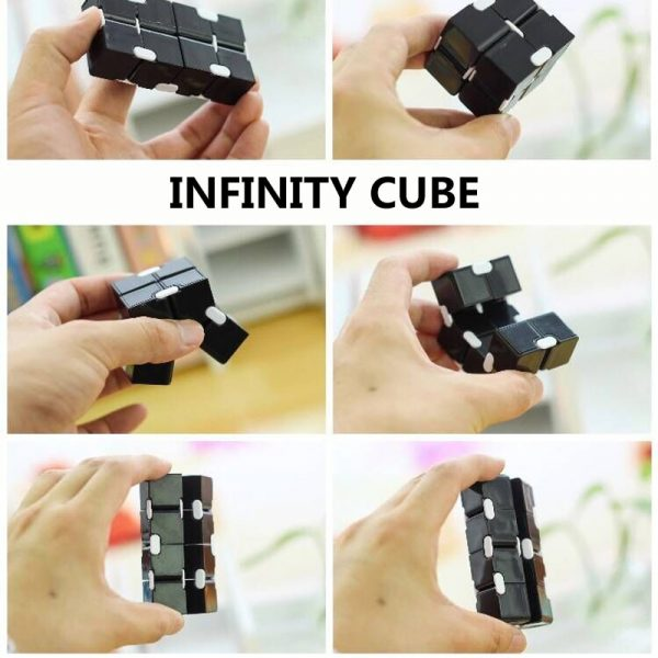 Decompression Blue Pink Infinity Cube Anti anxiety infinite cubes Upgrade Frosted Puzzles Toys for adults Stress 1 - Infinity Cube Fidget