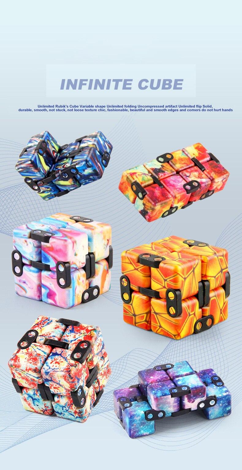 H2575fb49157241ad891c9b9a732c1687c - Infinity Cube Fidget
