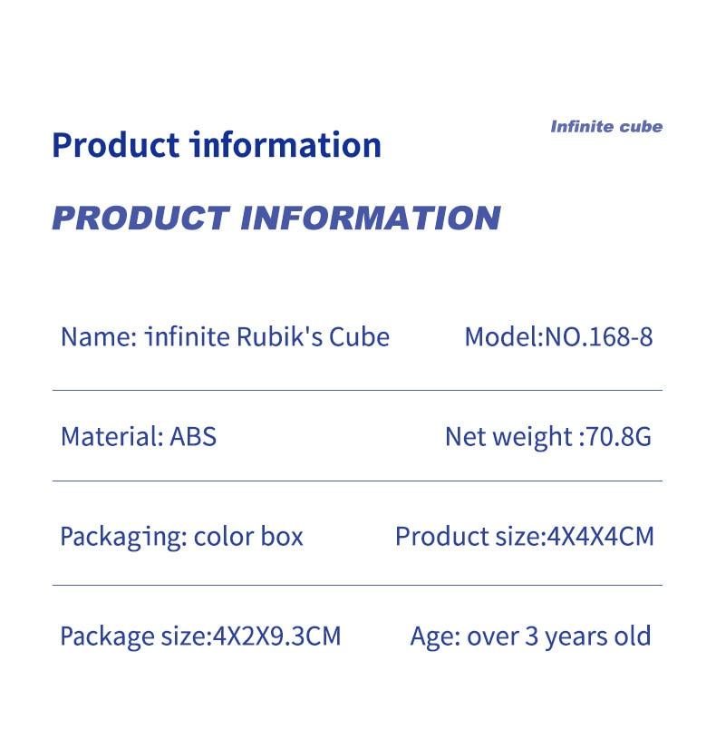 - Infinity Cube Fidget