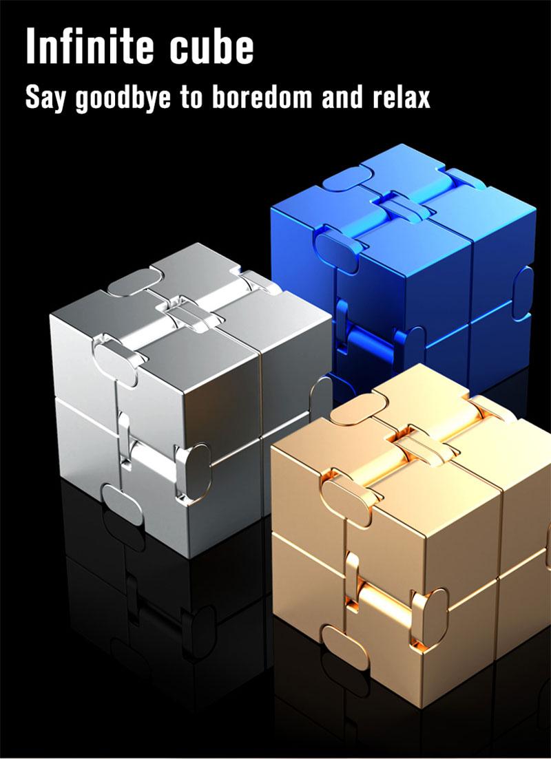 Hb2de259d06bc4bafa6f0c459787f8fb4B - Infinity Cube Fidget