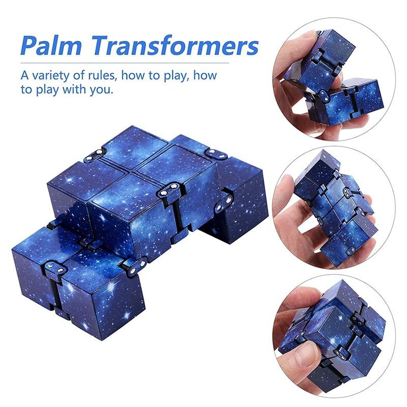 Hbcb1ed422f7f4157bff516e944a4df57Y - Infinity Cube Fidget