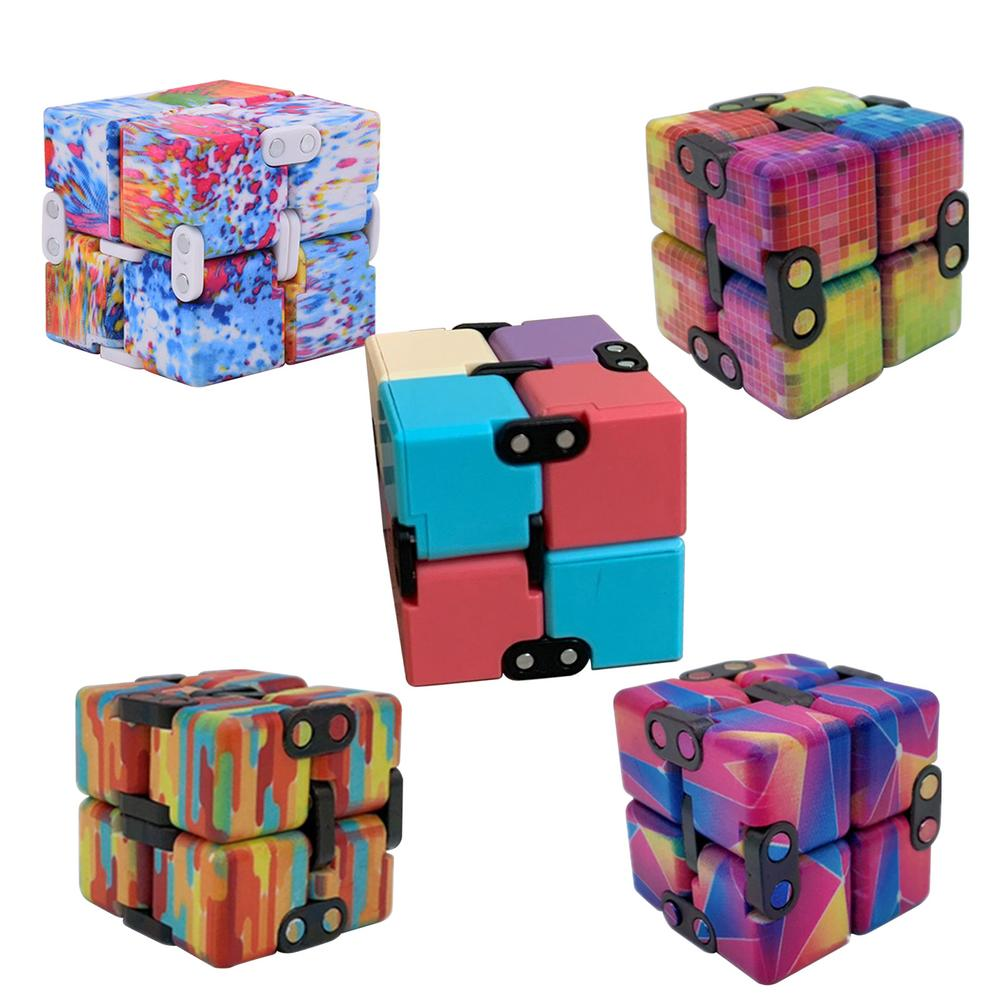 Hcdcf2bb0d8f84269be42e23013d93f96U - Infinity Cube Fidget