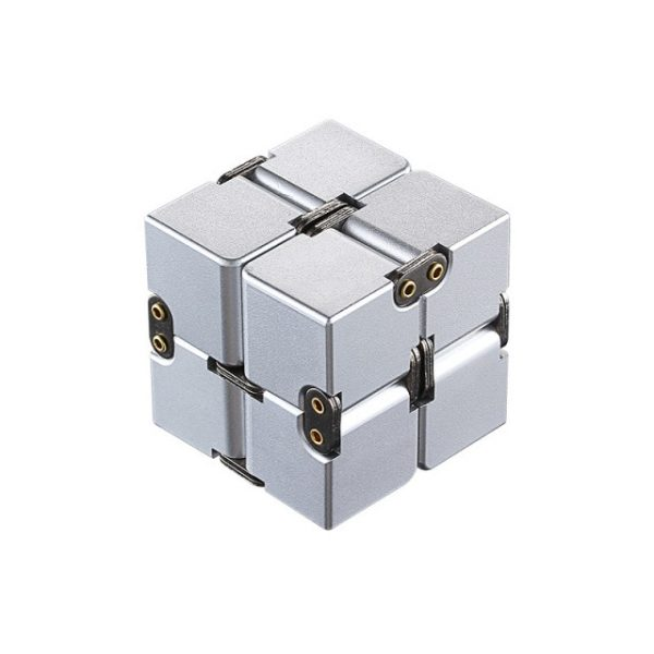 Mini Stress Relief Toy Premium Metal Infinity Cube Portable Decompresses Relax Toys Best Gift Toys for 1.jpg 640x640 1 - Infinity Cube Fidget