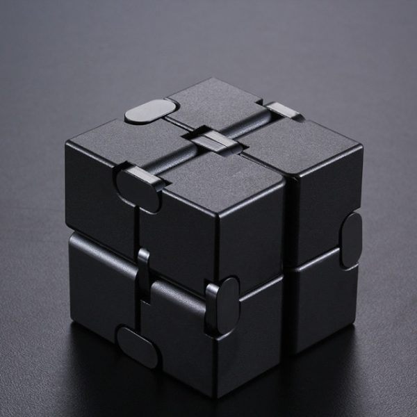 Mini Stress Relief Toy Premium Metal Infinity Cube Portable Decompresses Relax Toys Best Gift Toys for 10.jpg 640x640 10 - Infinity Cube Fidget