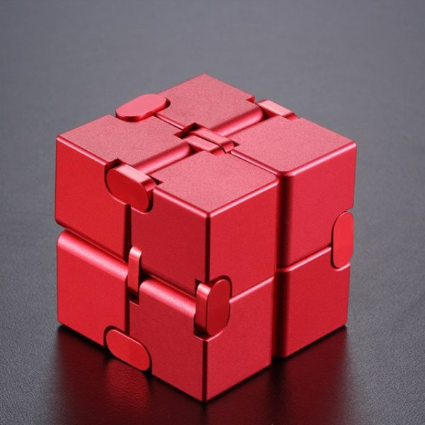 Mini Stress Relief Toy Premium Metal Infinity Cube Portable Decompresses Relax Toys Best Gift Toys for 11.jpg 640x640 11 - Infinity Cube Fidget