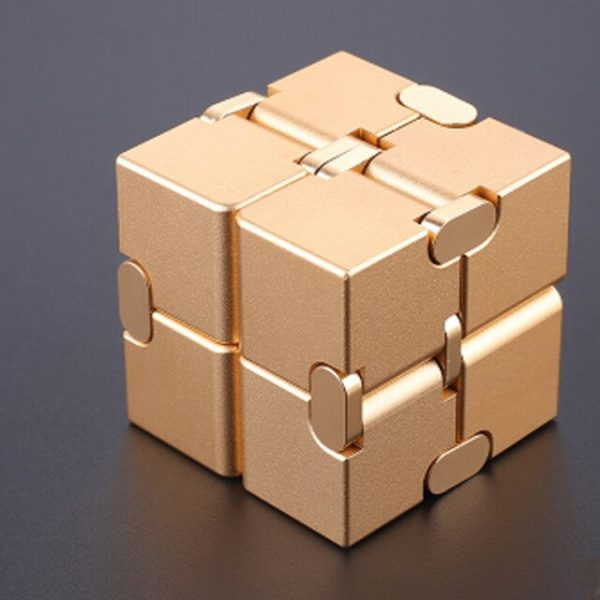 Mini Stress Relief Toy Premium Metal Infinity Cube Portable Decompresses Relax Toys Best Gift Toys for 13.jpg 640x640 13 - Infinity Cube Fidget