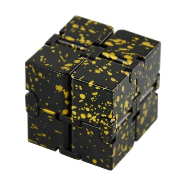 Mini Stress Relief Toy Premium Metal Infinity Cube Portable Decompresses Relax Toys Best Gift Toys for 15.jpg 640x640 15 - Infinity Cube Fidget