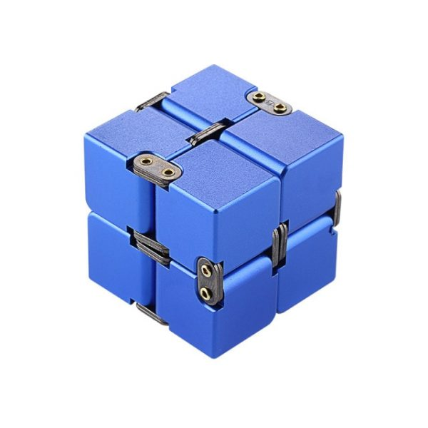 Mini Stress Relief Toy Premium Metal Infinity Cube Portable Decompresses Relax Toys Best Gift Toys for 5.jpg 640x640 5 - Infinity Cube Fidget