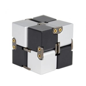 Mini Stress Relief Toy Premium Metal Infinity Cube Portable Decompresses Relax Toys Best Gift Toys for 6.jpg 640x640 6 - Infinity Cube Fidget