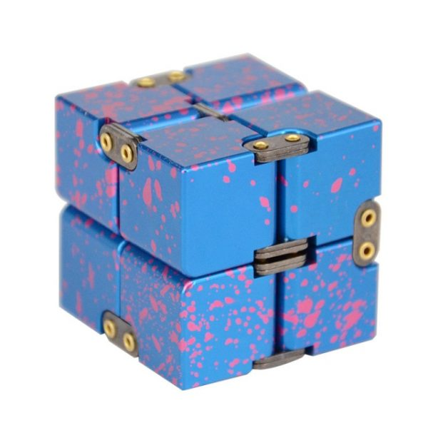 Mini Stress Relief Toy Premium Metal Infinity Cube Portable Decompresses Relax Toys Best Gift Toys for 8.jpg 640x640 8 - Infinity Cube Fidget