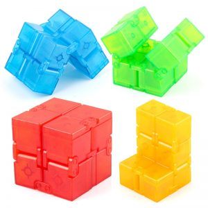 1pc Children s Magical Cube Decompression Toy Infinity Square Puzzle Toy Funny Hand Game Fingertip Toy - Infinity Cube Fidget