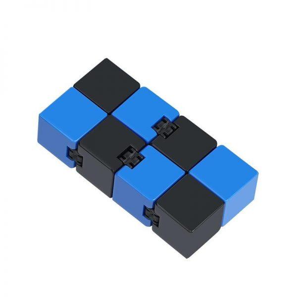 2021 Infinity Cube Toys Anti stress Endless Cube Hand Flip Kids Antistress Finger Game New Trending 3 - Infinity Cube Fidget