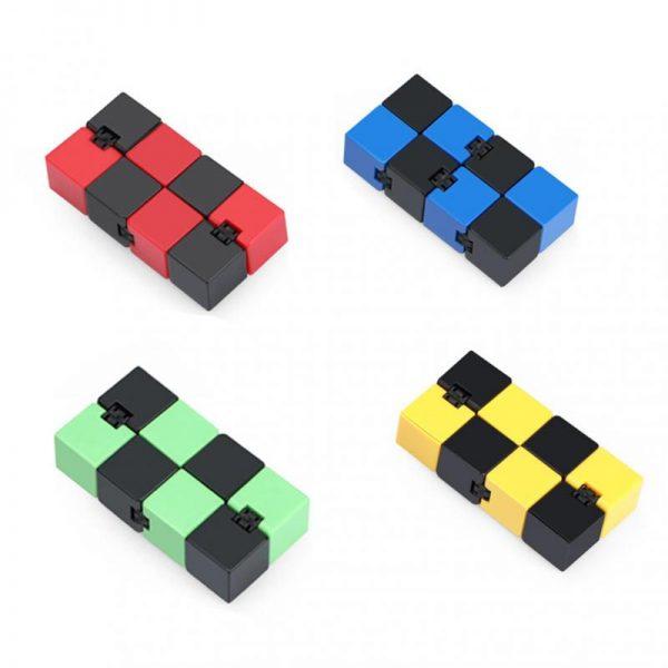2021 Infinity Cube Toys Anti stress Endless Cube Hand Flip Kids Antistress Finger Game New Trending 4 - Infinity Cube Fidget