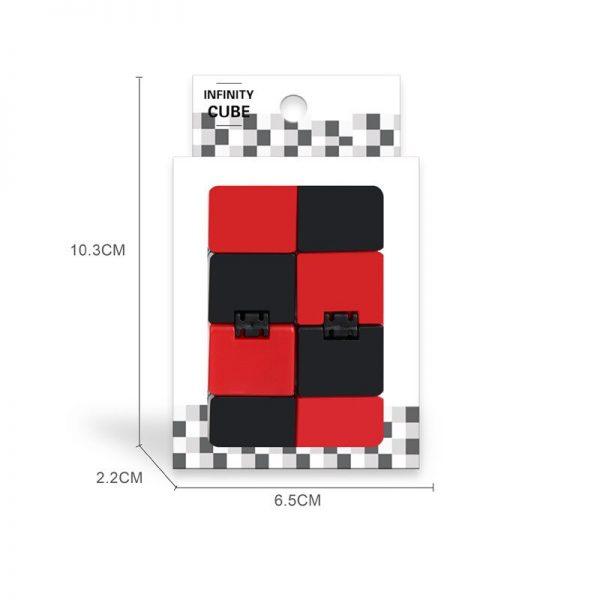 2021 Infinity Cube Toys Anti stress Endless Cube Hand Flip Kids Antistress Finger Game New Trending 5 - Infinity Cube Fidget