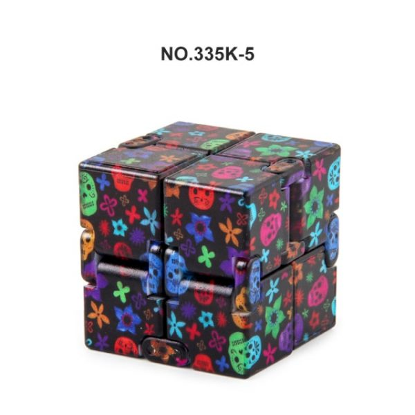 Anti Stress Infinity Magic Cube Autism Adult Decompression Toy New Christmas Shape Children Puzzle Square - Infinity Cube Fidget