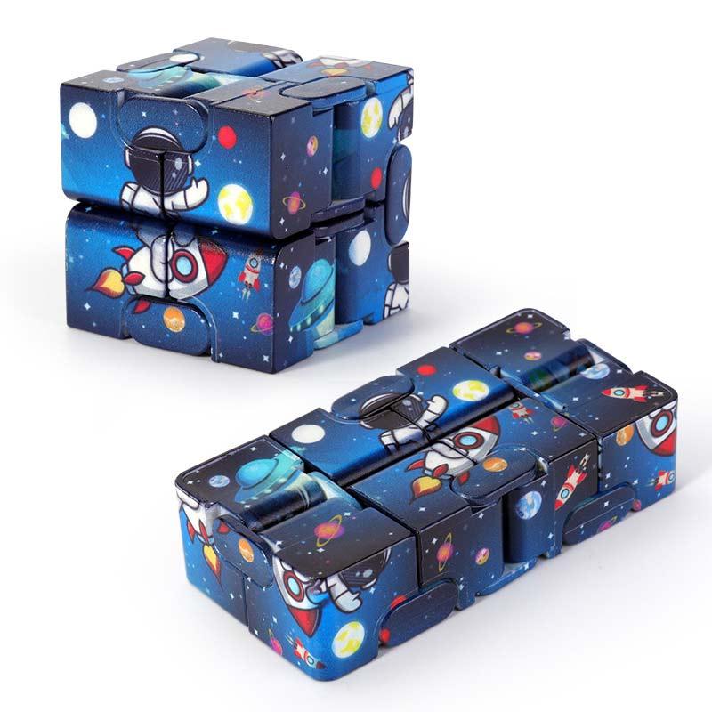H6b5263d960ee4a93bd7ea361bebb2f77M - Infinity Cube Fidget