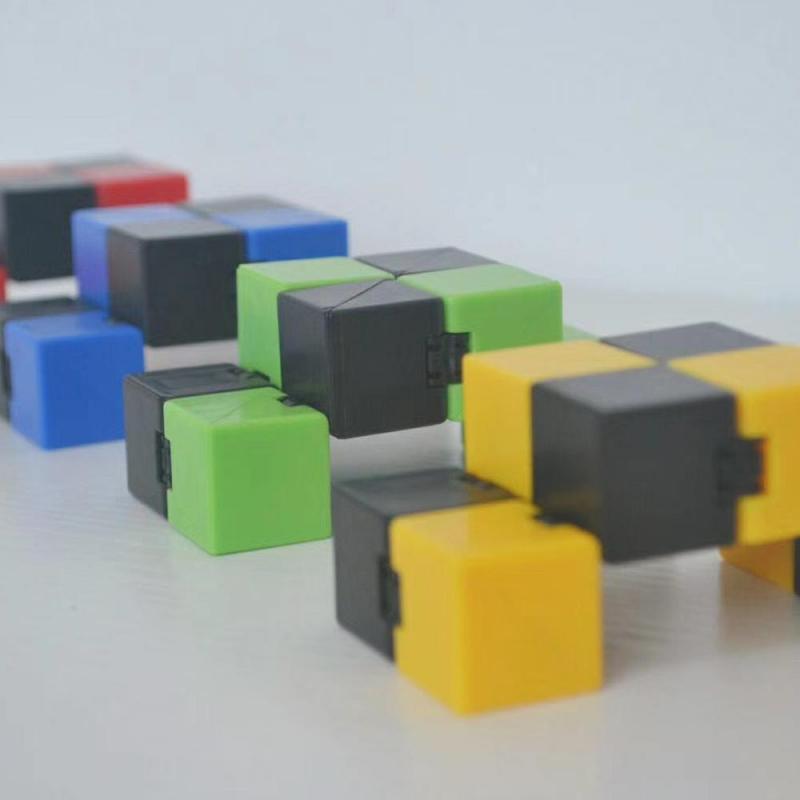 Hd1edf87e1bd7459e92fcf08f840a8e7eO - Infinity Cube Fidget