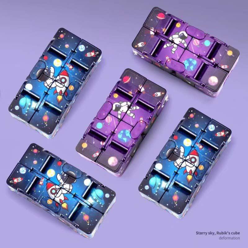 Hfd4afc5817c74243a9a1c94e905652947 - Infinity Cube Fidget